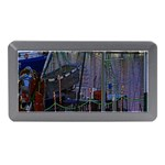 Christmas Boats In Harbor Memory Card Reader (Mini) Front