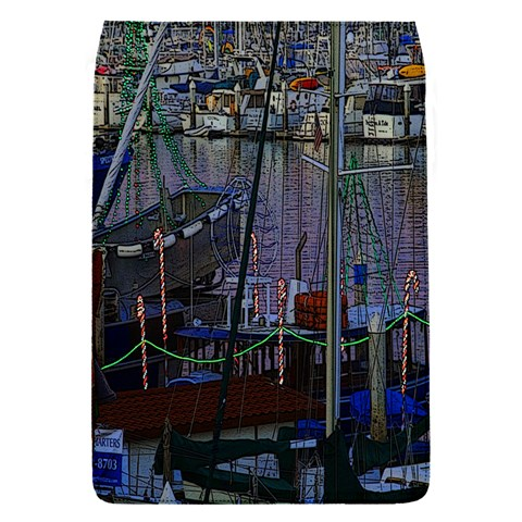 Christmas Boats In Harbor Flap Covers (S)