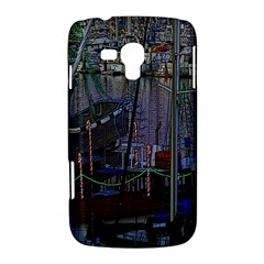 Christmas Boats In Harbor Samsung Galaxy Duos I8262 Hardshell Case