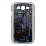 Christmas Boats In Harbor Samsung Galaxy Grand DUOS I9082 Case (White) Front
