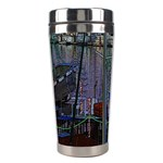Christmas Boats In Harbor Stainless Steel Travel Tumblers Center