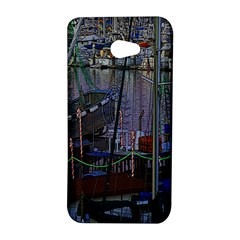 Christmas Boats In Harbor HTC Butterfly S/HTC 9060 Hardshell Case