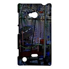 Christmas Boats In Harbor Nokia Lumia 720