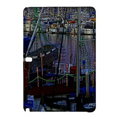 Christmas Boats In Harbor Samsung Galaxy Tab Pro 12.2 Hardshell Case