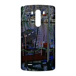 Christmas Boats In Harbor LG G3 Back Case Front