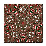 Christmas Kaleidoscope Tile Coasters Front