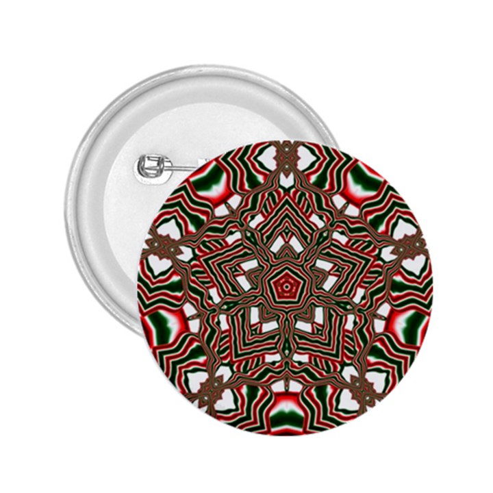 Christmas Kaleidoscope 2.25  Buttons