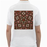 Christmas Kaleidoscope Golf Shirts Back