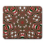 Christmas Kaleidoscope Large Mousepads Front