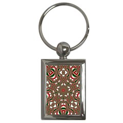 Christmas Kaleidoscope Key Chains (Rectangle)