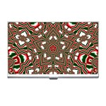 Christmas Kaleidoscope Business Card Holders Front