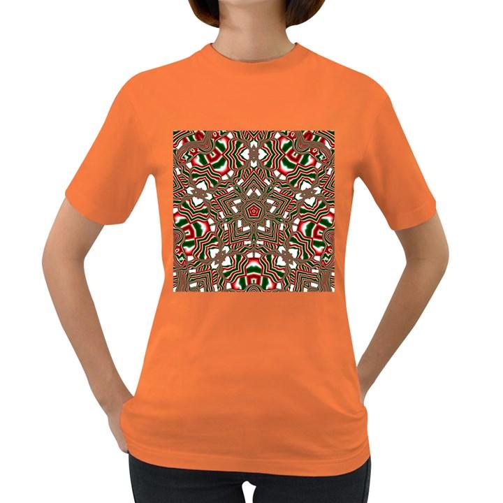 Christmas Kaleidoscope Women s Dark T-Shirt