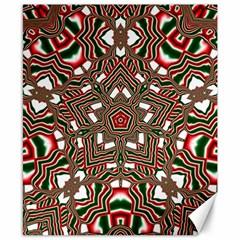 Christmas Kaleidoscope Canvas 8  x 10