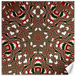 Christmas Kaleidoscope Canvas 12  x 12   12 x12 Canvas - 1