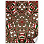 Christmas Kaleidoscope Canvas 12  x 16   16 x12 Canvas - 1
