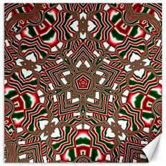Christmas Kaleidoscope Canvas 16  x 16