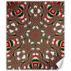 Christmas Kaleidoscope Canvas 20  x 24