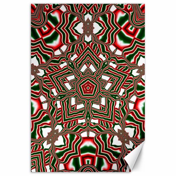 Christmas Kaleidoscope Canvas 20  x 30