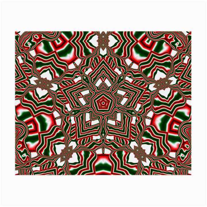 Christmas Kaleidoscope Small Glasses Cloth (2-Side)