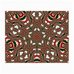 Christmas Kaleidoscope Small Glasses Cloth (2-Side) Back