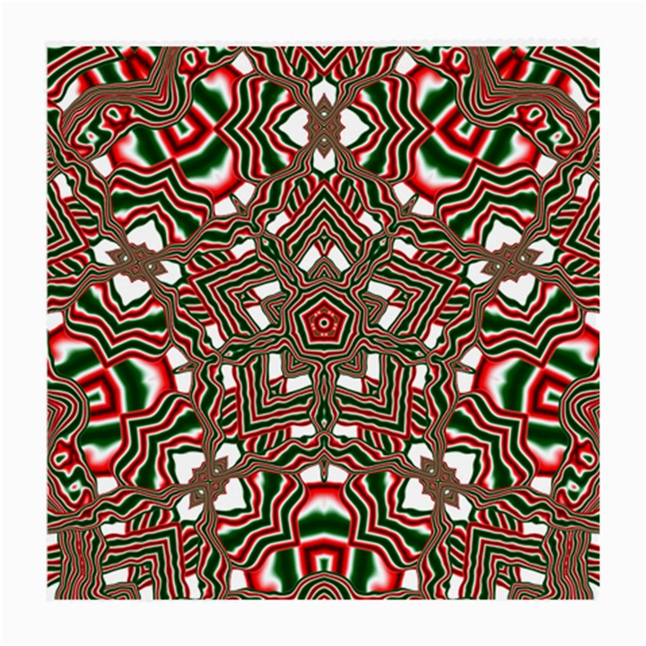 Christmas Kaleidoscope Medium Glasses Cloth (2-Side)