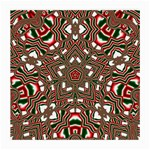 Christmas Kaleidoscope Medium Glasses Cloth (2-Side) Back