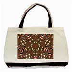 Christmas Kaleidoscope Basic Tote Bag (Two Sides) Front