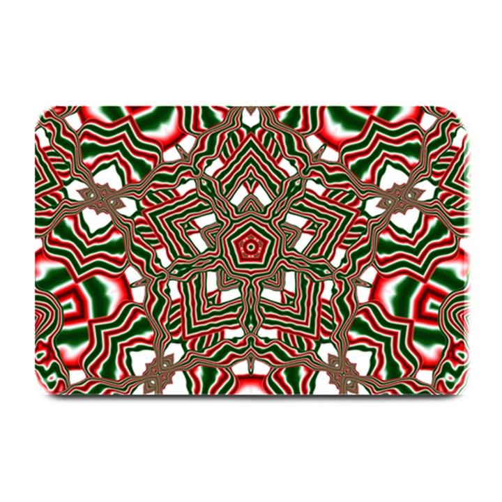 Christmas Kaleidoscope Plate Mats