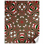 Christmas Kaleidoscope Canvas 11  x 14   14 x11 Canvas - 1