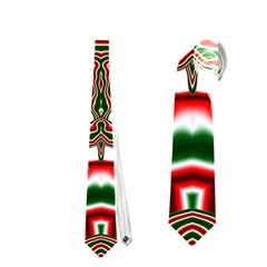 Christmas Kaleidoscope Neckties (One Side)