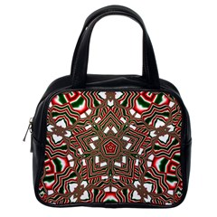 Christmas Kaleidoscope Classic Handbags (One Side)