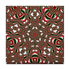 Christmas Kaleidoscope Face Towel