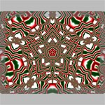 Christmas Kaleidoscope Canvas 16  x 12  16  x 12  x 0.875  Stretched Canvas