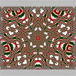 Christmas Kaleidoscope Canvas 20  x 16  20  x 16  x 0.875  Stretched Canvas
