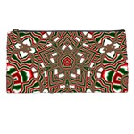 Christmas Kaleidoscope Pencil Cases Front