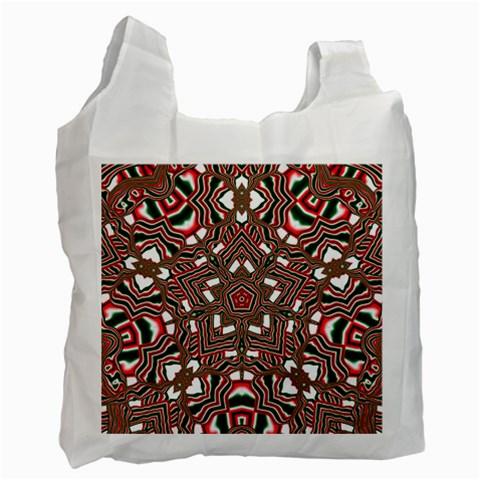 Christmas Kaleidoscope Recycle Bag (One Side)