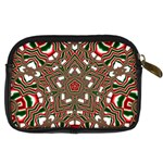Christmas Kaleidoscope Digital Camera Cases Back