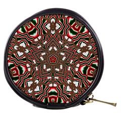 Christmas Kaleidoscope Mini Makeup Bags