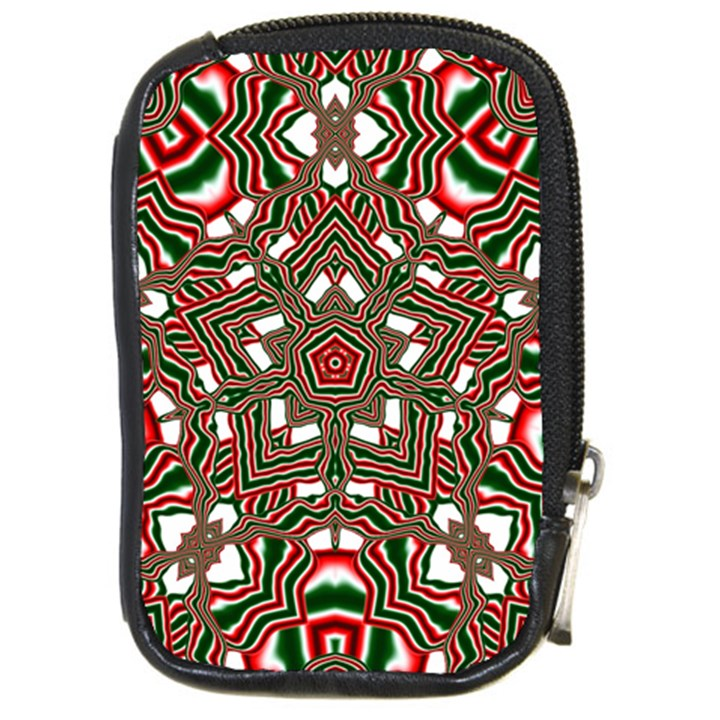 Christmas Kaleidoscope Compact Camera Cases