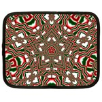 Christmas Kaleidoscope Netbook Case (XXL)  Front