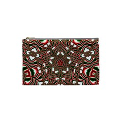 Christmas Kaleidoscope Cosmetic Bag (Small)