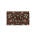 Christmas Kaleidoscope Cosmetic Bag (Small)  Front