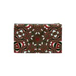 Christmas Kaleidoscope Cosmetic Bag (Small)  Back