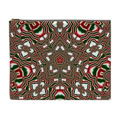 Christmas Kaleidoscope Cosmetic Bag (XL)
