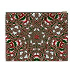Christmas Kaleidoscope Cosmetic Bag (XL) Back