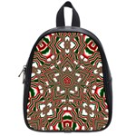 Christmas Kaleidoscope School Bags (Small)  Front