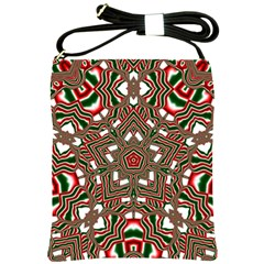 Christmas Kaleidoscope Shoulder Sling Bags