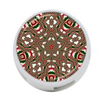 Christmas Kaleidoscope 4-Port USB Hub (Two Sides)  Front