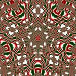 Christmas Kaleidoscope Magic Photo Cubes Side 5