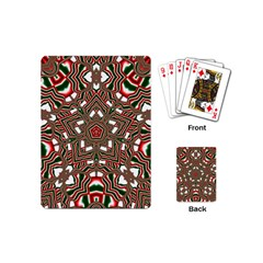 Christmas Kaleidoscope Playing Cards (Mini)